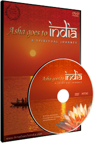 Asha goes to India DVD
